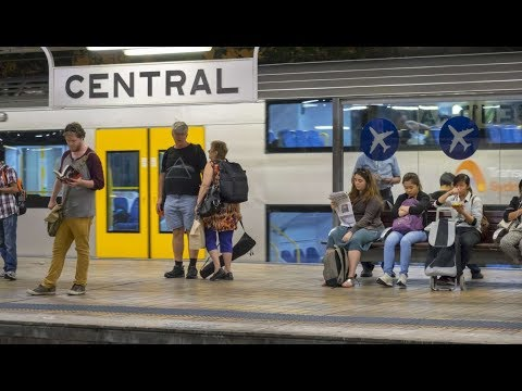 Central railway station in Sydney