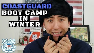 Coast Guard boot camp in the WINTER