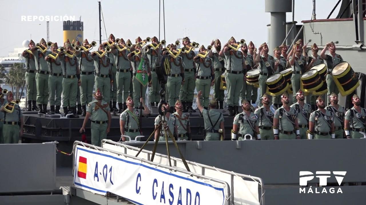 Semana Santa De Málaga 2017 Jueves Santo Desembarco De La Legión Youtube