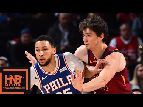 Philadelphia 76ers vs Cleveland Cavaliers - Full Game Highlights | November 12, 2019-20 NBA Season