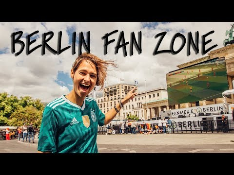 World Cup Fan Zone Berlin - Germany v Sweden // Travel Vlog