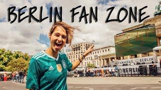 World Cup Fan Zone Berlin - Germany v Sweden // Travel Vlog
