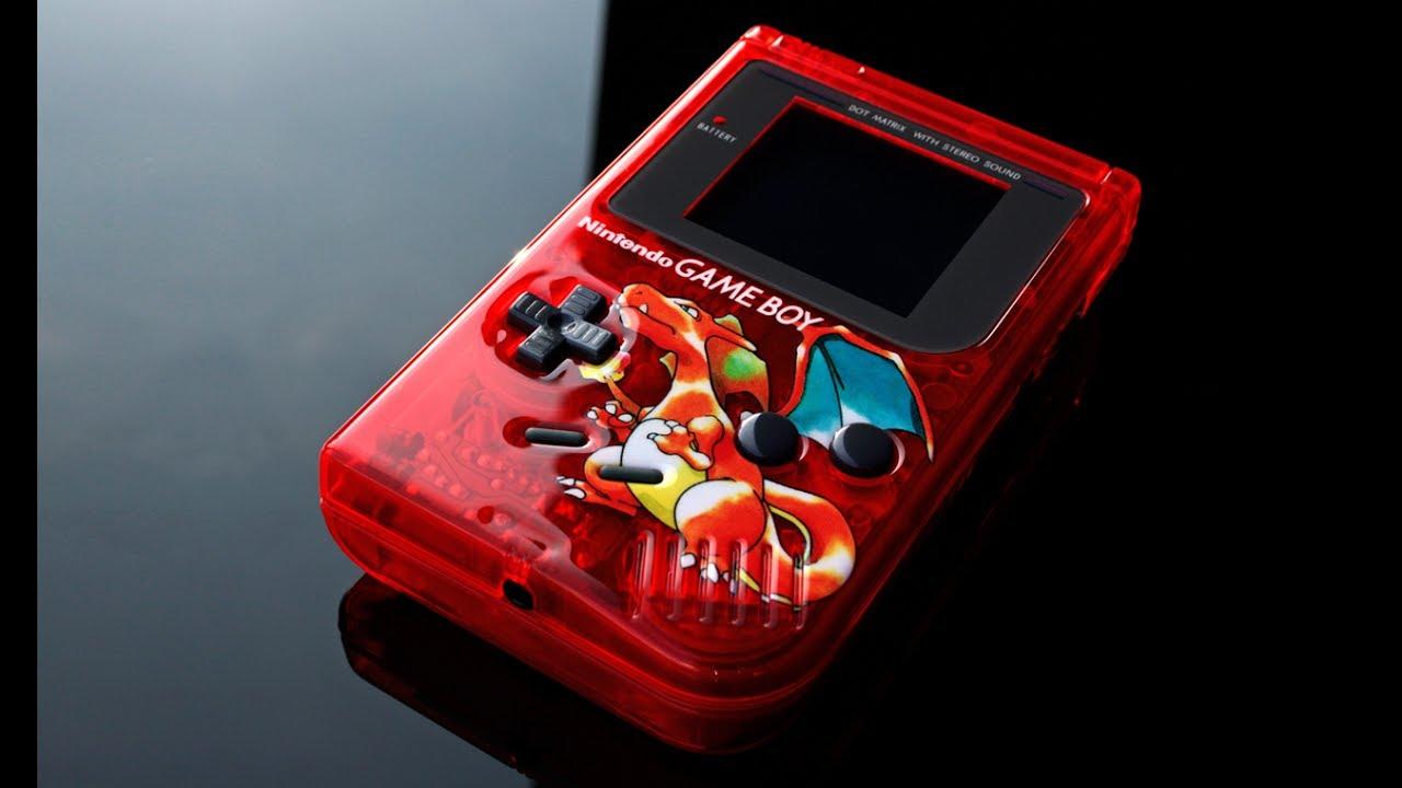 custom Gameboy Pokemon RED themed - YouTube