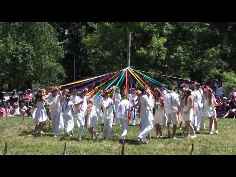 May Pole Dance at Sacramento Waldorf School
