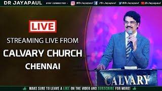 Tamil Worship | Calvary Church Chennai | 27-01-2019 | Dr Jayapaul