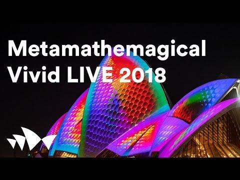 LIVE: Lighting of the Sails at Vivid LIVE 2018 | Metamathemagical by Jonathan Zawada