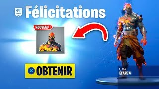 HOW DÉBLOQUER THE SKIN PRISONNIER STEP 4 on FORTNITE!