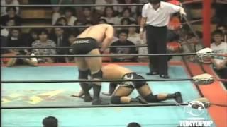 Mike Awesome vs  Masato Tanaka  FMW 1995