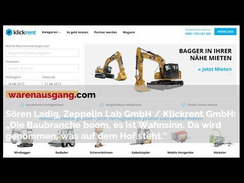 Klickrent / Z Lab Gründer und Geschäftsführer Sören Ladig im warenausgang.com Interview