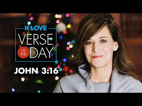 KLOVEs Verse of the Day: John 3:16