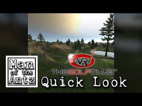 Teeing off in VR | The Golf Club VR on Oculus Rift & Touch - Quick Look