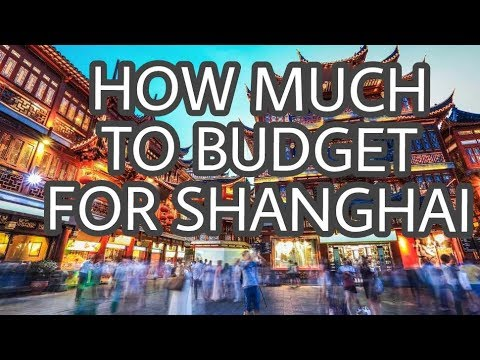 How expensive is shanghai  to Travel in 2018