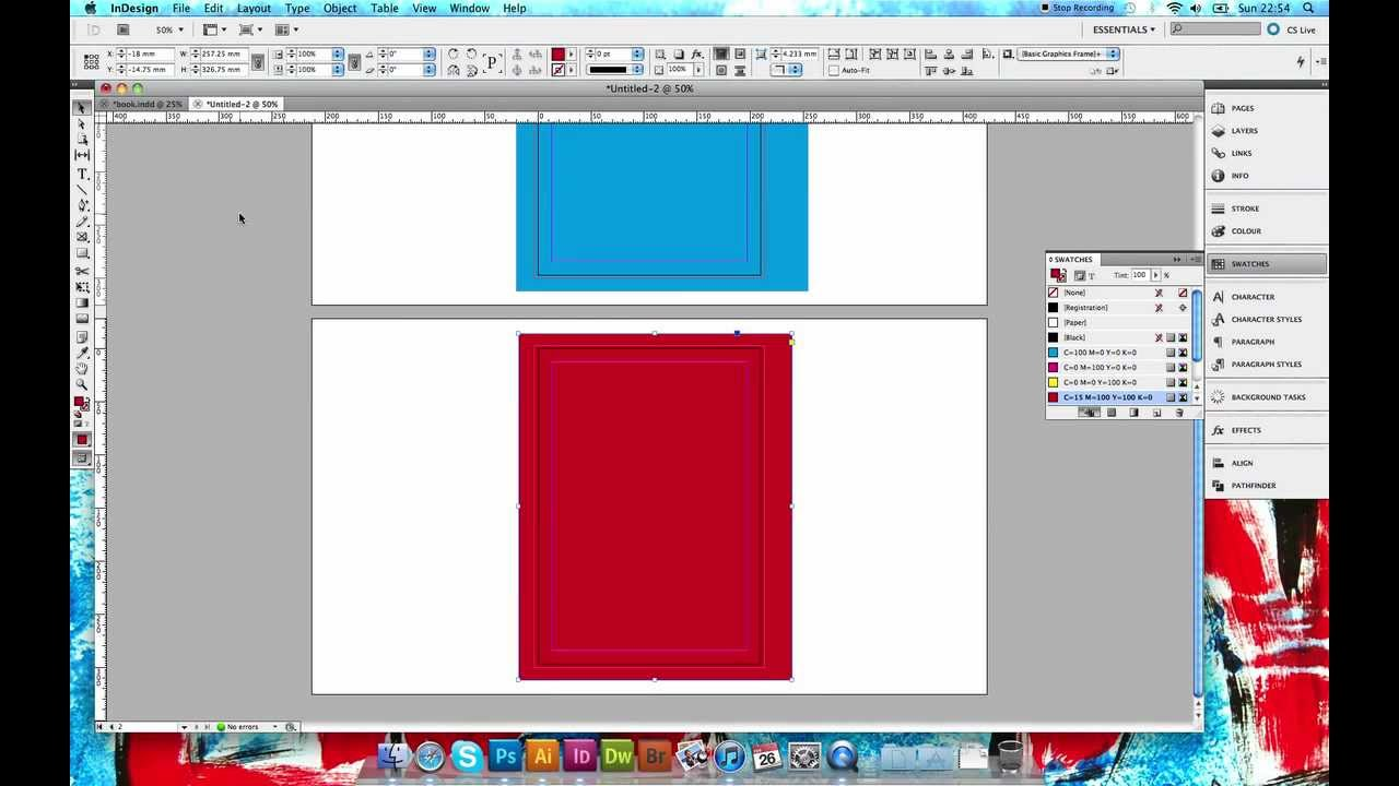 Setting Up A Two Sided Poster Imposition For Print