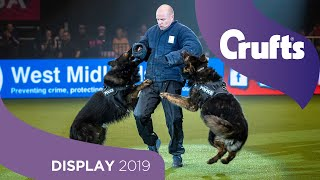 Sound The Alarm! The West Midlands Police Dog Display Are Back... | Crufts 2019