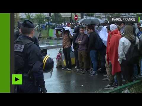 Plus de 2000 personnes évacuées des campements du nord de Paris
