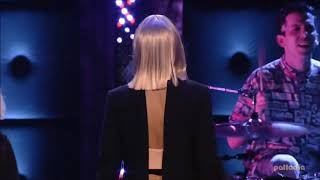 Sia, Ed Sheeran and Grouplove - Drunk In Love (Beyonce Cover) live at SoundClash