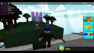 How to take the 2 Bau in the ROBLOX in the build your boat by shining treasure
