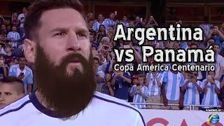 Argentina vs Panamá - Copa América Centenario (Parodia)