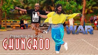 Ghungroo Song | War | Vishal & Shekhar Ft, Arijit Singh, Shilpa Rao  Peter Dance Academy #