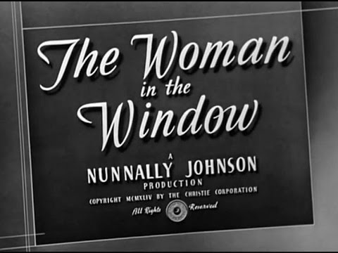 The Woman in the Window Fritz Lang, 1944