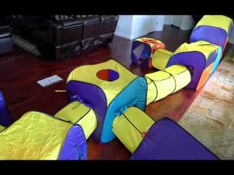 Playhut Ultimate Playland Tent- Kids Outdoor Toys & Playhut Ultimate Playland Tent- Kids Outdoor Toys - YouTube