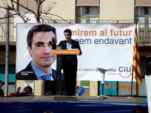 presentació del candidat de CiU al´alcaldia de Mol...