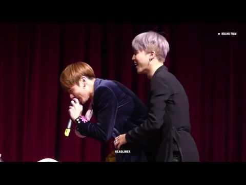 V and Jungkook imitating Jimin's