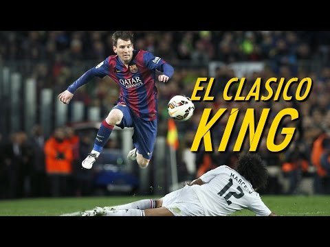 Lionel Messi - The El Clasico King - Destroying Real Madrid