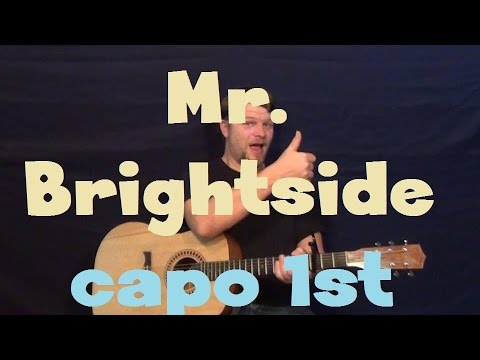 Mr Brightside The Killers Easy Strum Guitar Lesson How To Play