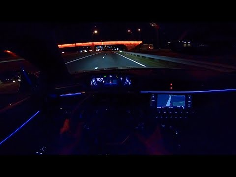 Peugeot 508 GT 2019 NIGHT DRIVE POV | AMBIENT LIGHTING by AutoTopNL