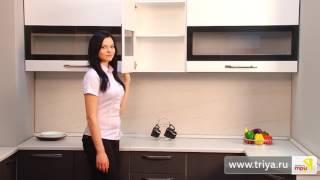 ТриЯ «Графит» модульная мебель для кухни (вДОМбери)