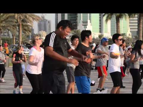 Community Fitness Activity by FFHQ Filipino Fitness and Health in Qatar HD
