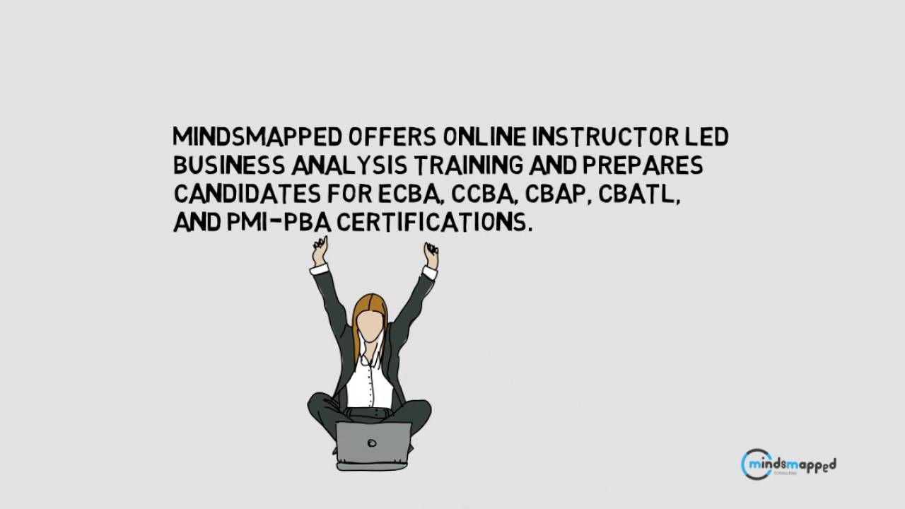 Business Analysis Certification Mindsmapped Consulting Youtube