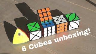 Yuxin Little magic 3x3 + meer unboxing!!! AliExpress. (NL)
