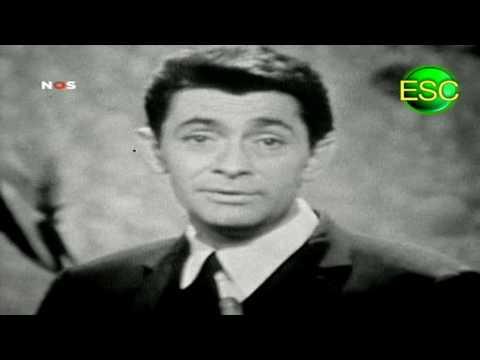 ESC 1961 Winner Reprise - Luxembourg - Jean-Claude Pascal - Nous Les Amoureux