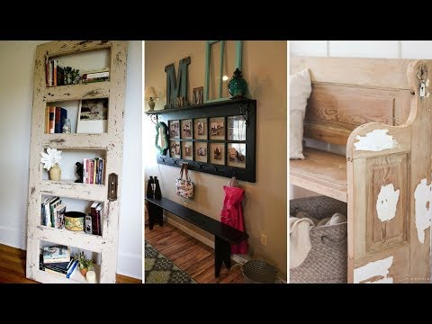 🏠 5 Unexpected Ideas to Reuse Old Doors: Creative and Unique Projects 🏠