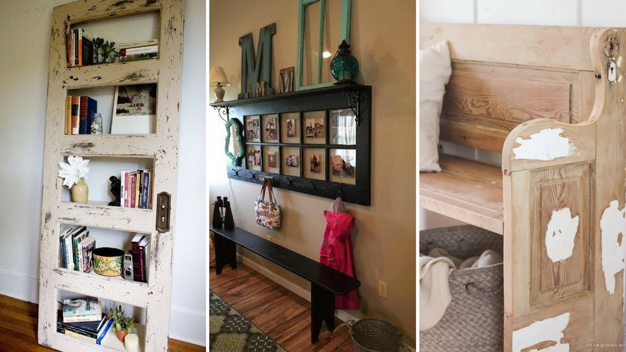 5 Unexpected Ideas To Reuse Old Doors Creative And Unique Projects