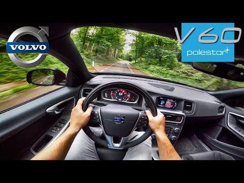 367HP Volvo V60 POLESTAR 2.0 TURBO & SUPERCHARGED POV Test Drive by AutoTopNL