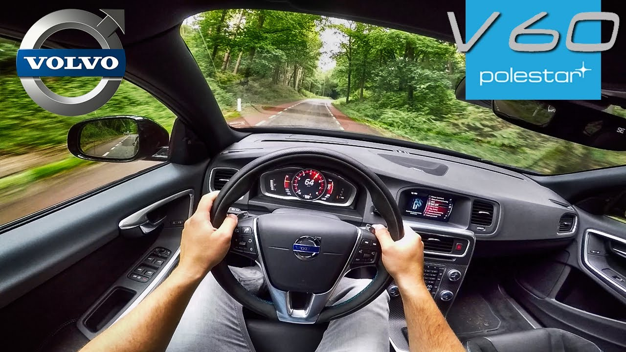 367hp Volvo V60 Polestar 2 0 Turbo Supercharged Pov Test Drive By Autotopnl