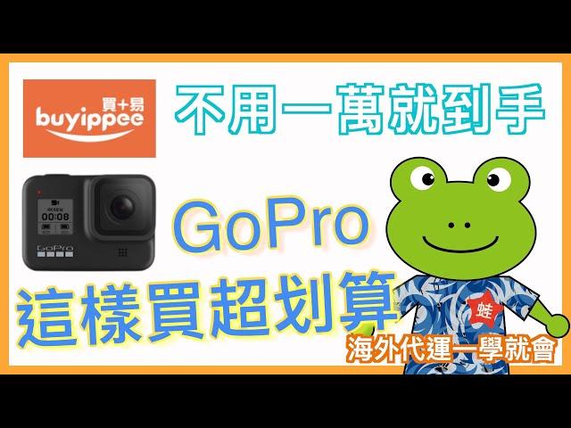 小蛙實測教學 #7 - 這樣買 GoPro 省超大   GoPro 9 上市,剛買完8就出9   教你買超划算GoPro   第一次使用 buyippee 代運就上手   怎麼買國外的東西   記下來