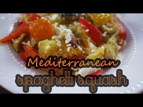 mediterranean-spaghetti-squash-|-how-to-&-low-carb