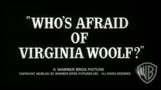 Who's Afraid of Virginia Woolf? - Original Theatrical Trailer