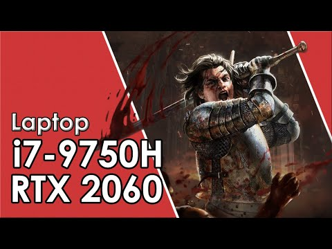 i7-9750H + RTX 2060 Laptop // Test in 8 Games