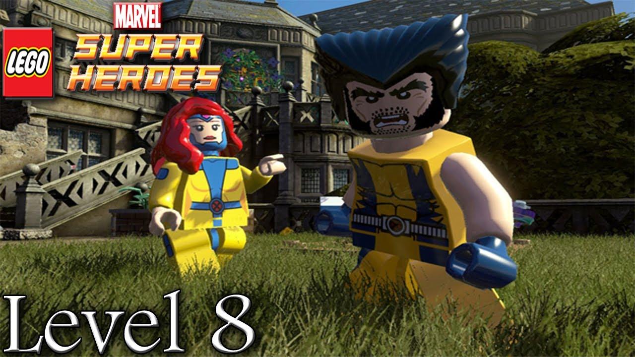 Lego Marvel Superheroes Walkthrough: Level 8 Juggernauts ...