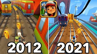 Evolution of Subway Surfers Games 2012 - 2021 screenshot 5
