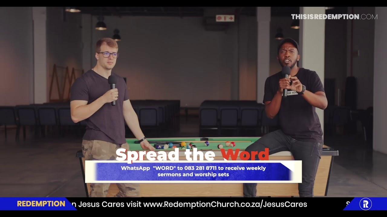 Redemption Church LIVE Service | 10 January 2021 | Ps Marcel Gaasenbeek