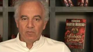 Francisco martin moreno y su nuevo libro Arrebatos Carnales