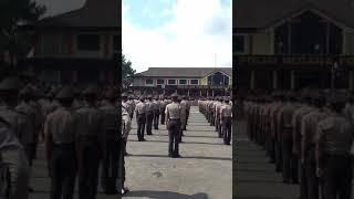 Tup Dasbhara Siswa Diktuk Bintara Polri SPN Polda Metro Jaya (SPN PMJ Lido) Angkatan 40 T.A 2017
