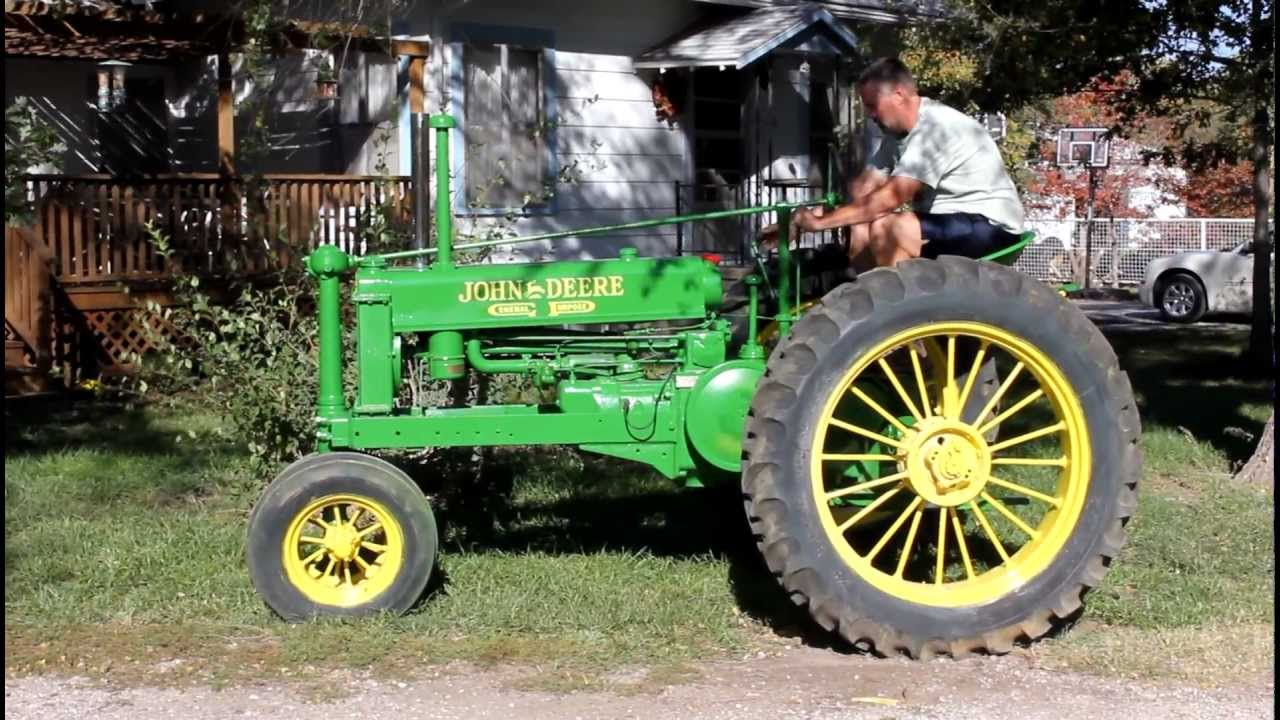 1937 John Deere Unstyled B Tractor For Sale  7 000 On