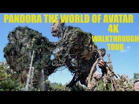 Pandora The World of Avatar 4K Full Walkthrough Tour Walt Disney World 2019 Disney's Animal Kingdom